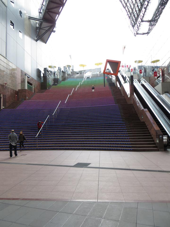 Kyoto Station Stairs