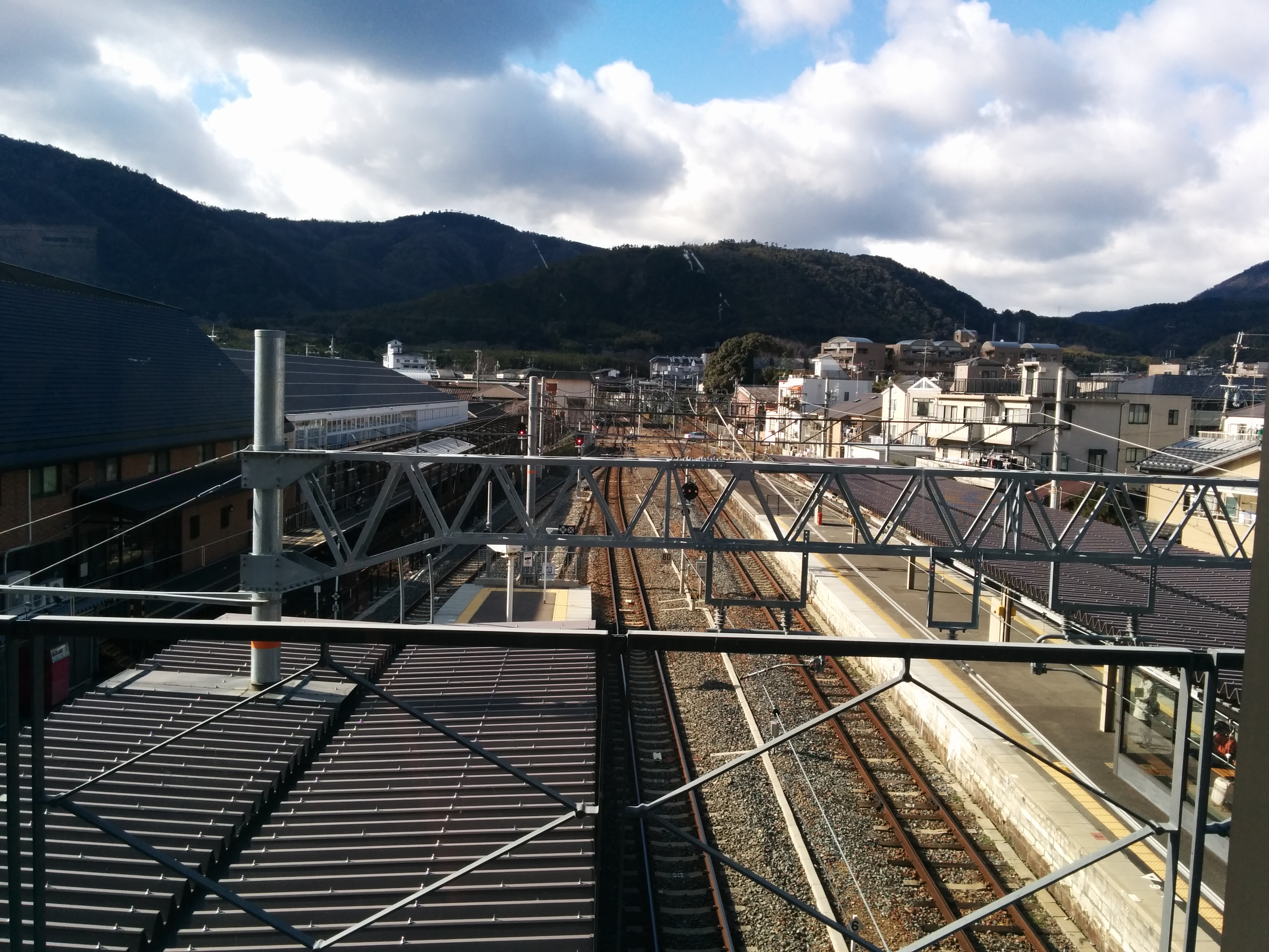 Arriving at Arashiyama