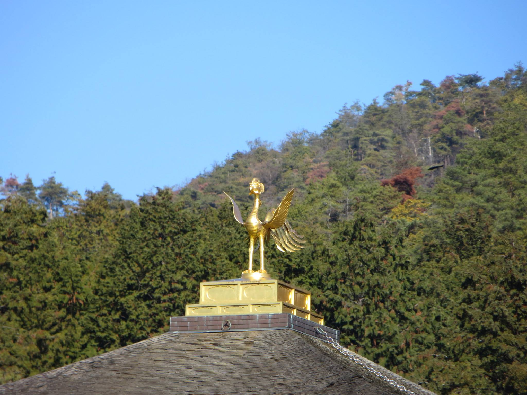 Top of temple
